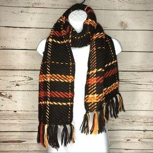 Talbots knit wool knit scarf